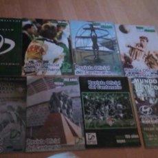 Coleccionismo deportivo: 7 REVISTAS OFICIAL DEL CENTENARIO DEL REAL BETIS Y 1 DE MUNDO BETICO. Lote 268140514