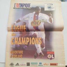 Coleccionismo deportivo: REVISTA FÚTBOL OLYMPIQUE LYON (CON PÓSTER GOVOU). Lote 268307009