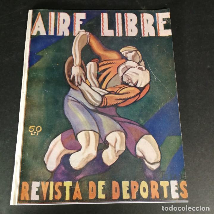 REVISTA DEPORTES AIRE LIBRE Nº 55 1924 FÚTBOL DEPORTIVO ESPAÑOL BARCELONA ARENAS BILBAO MADRID IRÚN (Coleccionismo Deportivo - Revistas y Periódicos - otros Fútbol)