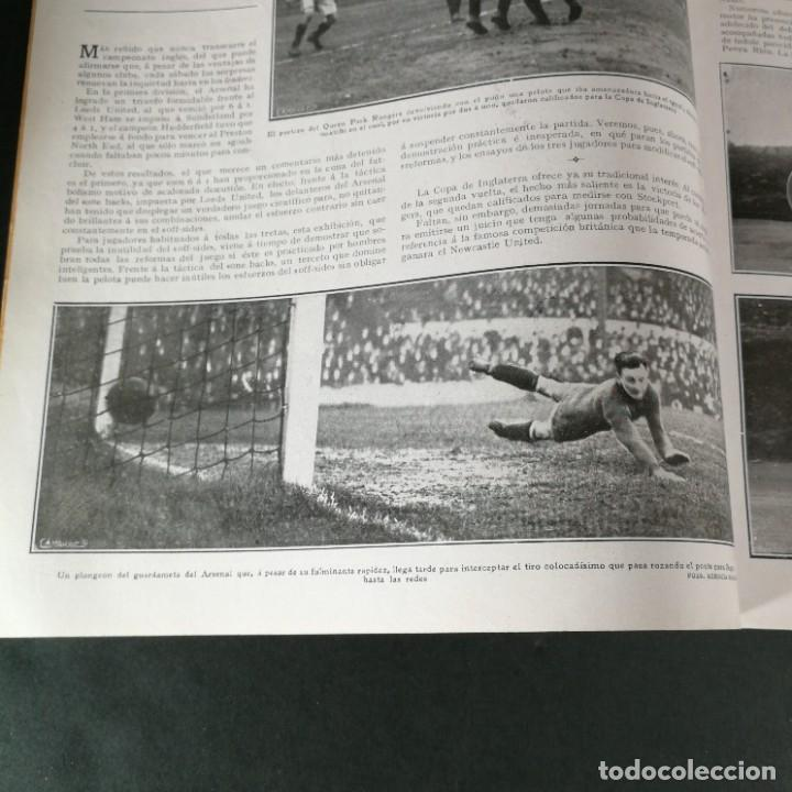 Coleccionismo deportivo: Revista Deportes Aire Libre Nº 55 1924 Fútbol Deportivo Español Barcelona Arenas Bilbao Madrid Irún - Foto 5 - 268570749