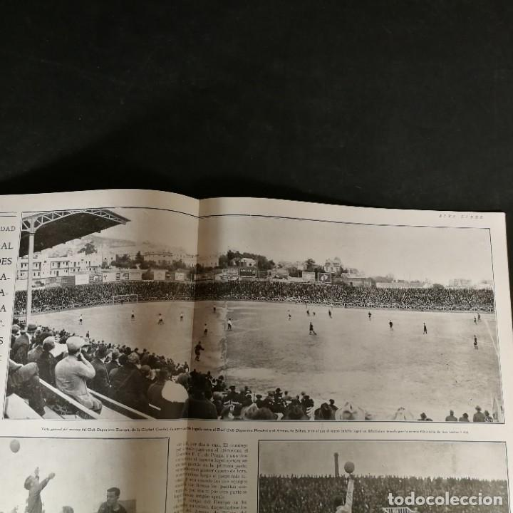 Coleccionismo deportivo: Revista Deportes Aire Libre Nº 55 1924 Fútbol Deportivo Español Barcelona Arenas Bilbao Madrid Irún - Foto 6 - 268570749