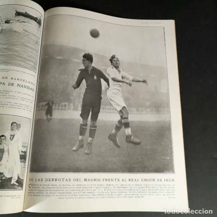 Coleccionismo deportivo: Revista Deportes Aire Libre Nº 55 1924 Fútbol Deportivo Español Barcelona Arenas Bilbao Madrid Irún - Foto 9 - 268570749