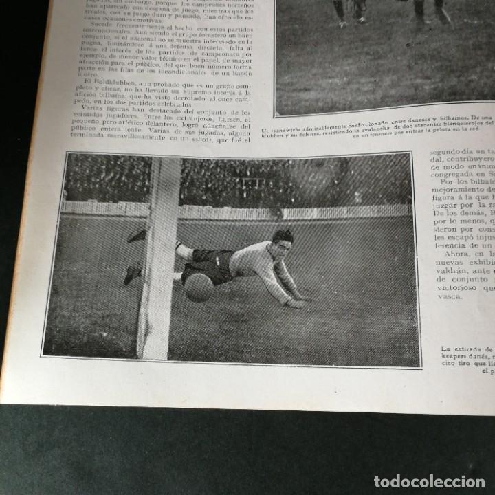 Coleccionismo deportivo: Revista Deportes Aire Libre Nº 55 1924 Fútbol Deportivo Español Barcelona Arenas Bilbao Madrid Irún - Foto 11 - 268570749