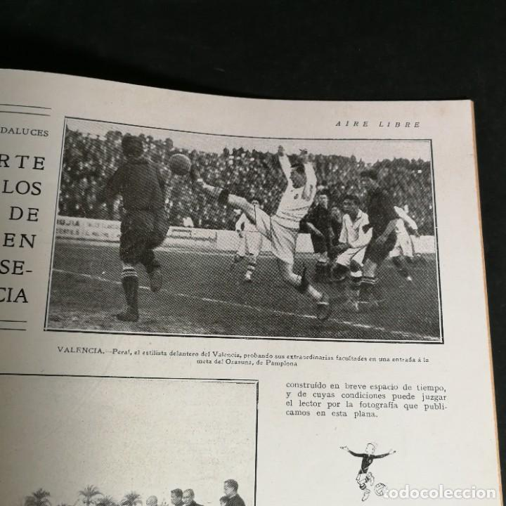 Coleccionismo deportivo: Revista Deportes Aire Libre Nº 55 1924 Fútbol Deportivo Español Barcelona Arenas Bilbao Madrid Irún - Foto 12 - 268570749