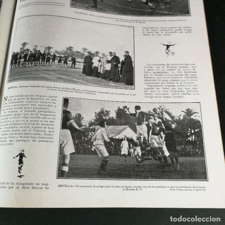 Coleccionismo deportivo: Revista Deportes Aire Libre Nº 55 1924 Fútbol Deportivo Español Barcelona Arenas Bilbao Madrid Irún - Foto 13 - 268570749