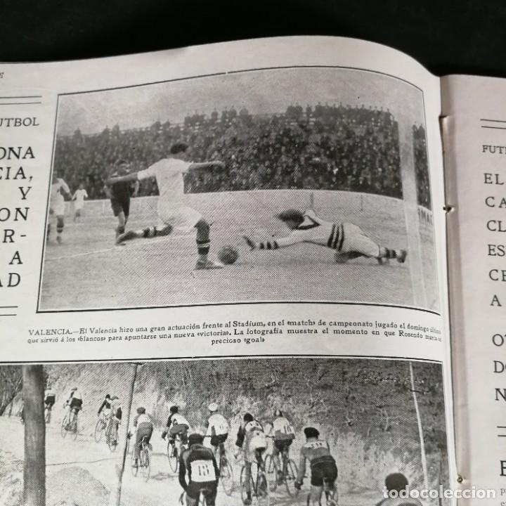Coleccionismo deportivo: Revista Deportes Aire Libre Nº 57 1925 Fútbol Deportivo Español Tarrasa Athletic Bilbao Racing - Foto 5 - 268571069