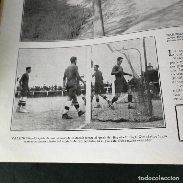Coleccionismo deportivo: Revista Deportes Aire Libre Nº 57 1925 Fútbol Deportivo Español Tarrasa Athletic Bilbao Racing - Foto 6 - 268571069
