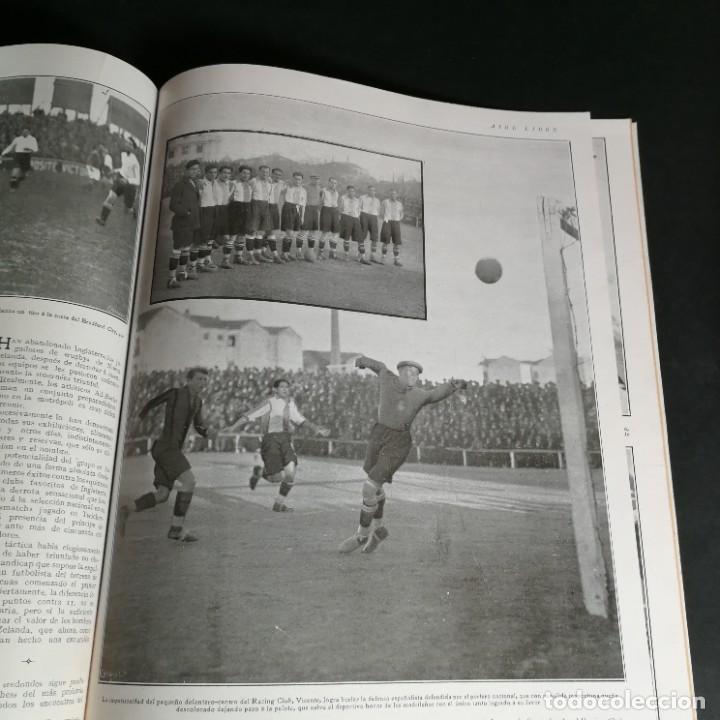 Coleccionismo deportivo: Revista Deportes Aire Libre Nº 57 1925 Fútbol Deportivo Español Tarrasa Athletic Bilbao Racing - Foto 8 - 268571069
