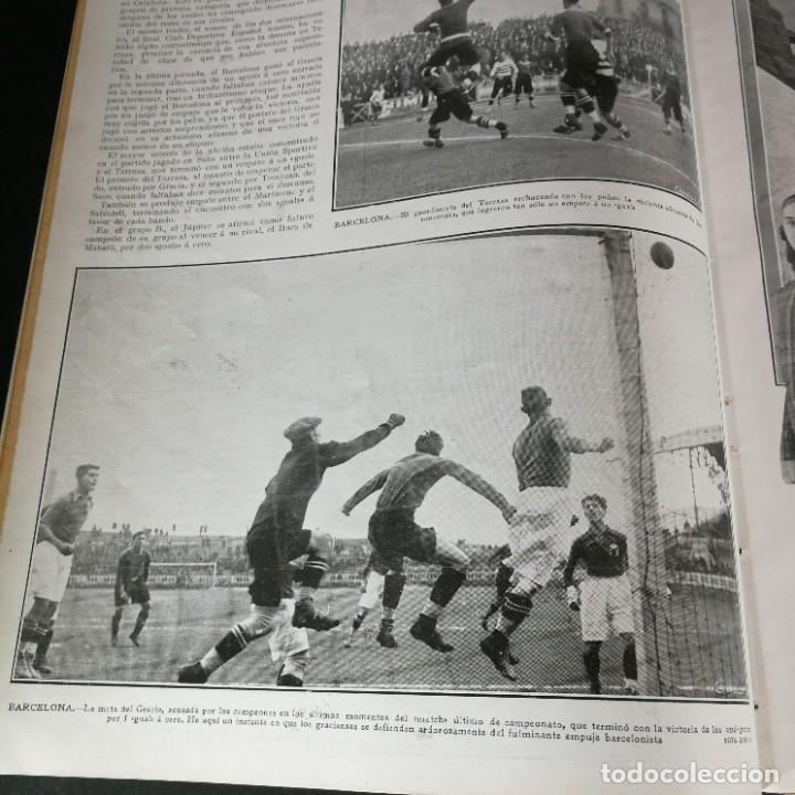 Coleccionismo deportivo: Revista Deportes Aire Libre Nº 60 1925 Fútbol Tarrasa Barcelona Real Madrid Unión Sporting Español - Foto 5 - 268571589