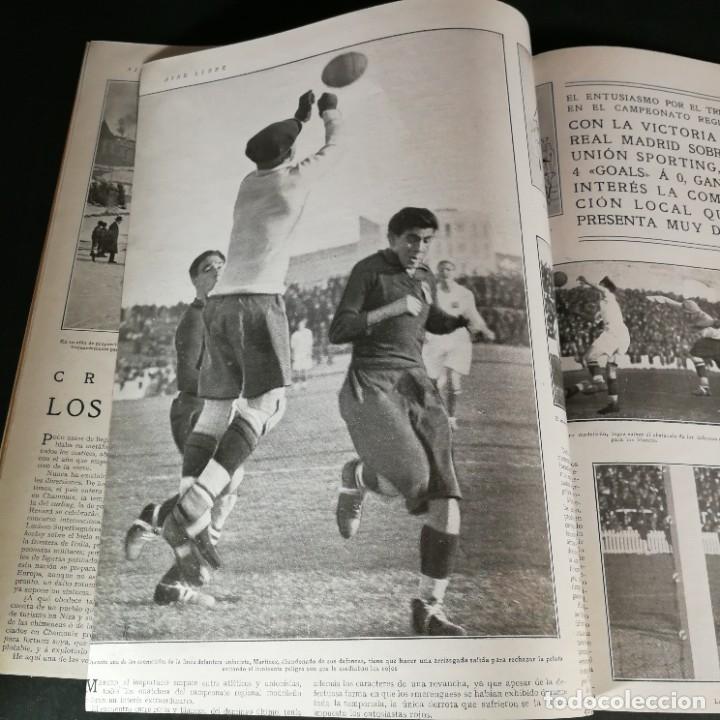 Coleccionismo deportivo: Revista Deportes Aire Libre Nº 60 1925 Fútbol Tarrasa Barcelona Real Madrid Unión Sporting Español - Foto 6 - 268571589