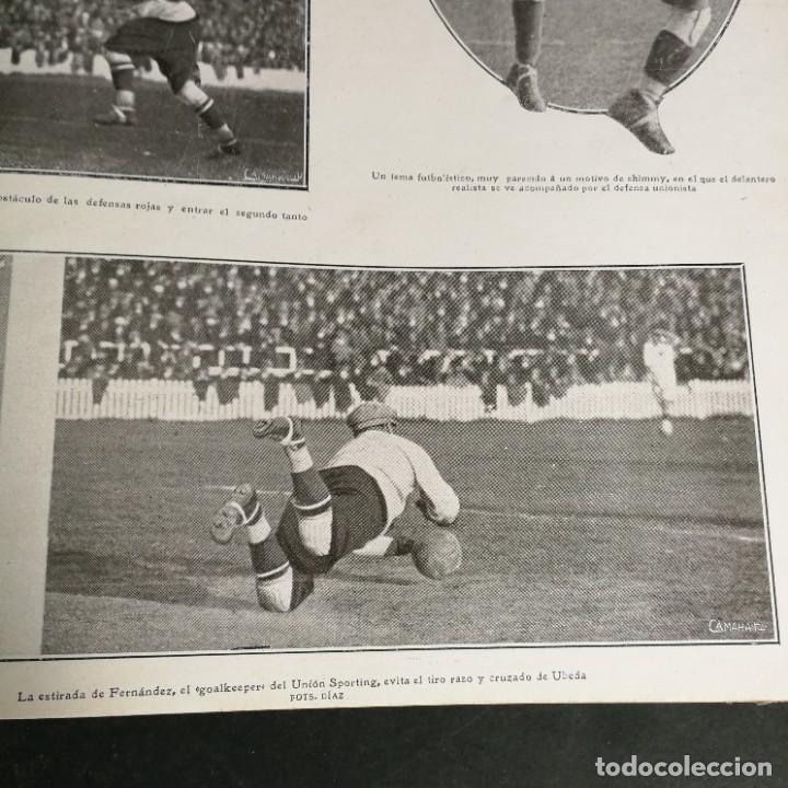 Coleccionismo deportivo: Revista Deportes Aire Libre Nº 60 1925 Fútbol Tarrasa Barcelona Real Madrid Unión Sporting Español - Foto 8 - 268571589