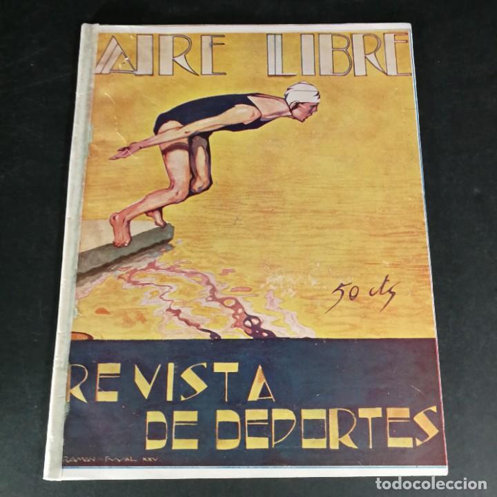 REVISTA DEPORTES AIRE LIBRE Nº 81 1925 CICLISMO MOTOCICLISMO HÍPICA (Coleccionismo Deportivo - Revistas y Periódicos - otros Fútbol)