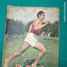 Coleccionismo deportivo: REVISTA EL GRAFICO Nº1439 7 DE FEBRERO DE 1947 BUENOS AIRES. MELCHOR PALMEIRA EN PORTADA. Lote 268598849