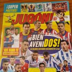 Coleccionismo deportivo: JUGON Nº 167 - LIGA 2020 - + POSTER DEST, MUNIAIN, LEDESMA, BENZEMA, PLANTILLA ATLETICO DE MADRID, I. Lote 269117148