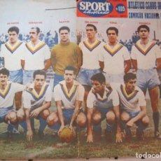 Coleccionismo deportivo: SPORT ILUSTRADO-REVISTA DE FUTBOL PORTUGUESA-NUMERO 105-11 DE MARZO DE 1959-VER FOTOS-(V-22.801). Lote 269132113