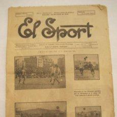 Coleccionismo deportivo: EL SPORT-23 DE ABRIL 1921-FIESTA INTIMA DEL FC BARCELONA-BOXEO-VER FOTOS-(K-3292). Lote 269160763