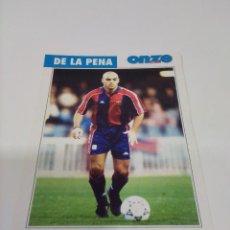 Coleccionismo deportivo: FICHA ONZE MONDIAL DE LA PEÑA - BARCELONA.. Lote 269382743