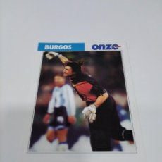 Coleccionismo deportivo: FICHA ONZE MONDIAL BURGOS - ARGENTINA.. Lote 269390973