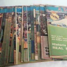 Coleccionismo deportivo: 63 NUMEROS DE HISTORIA VIVA DEL REAL MADRID. Lote 269392413