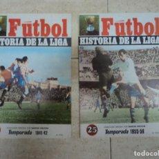 Coleccionismo deportivo: FUTBOL:HISTORIA DE LA LIGA: 1955- 56 Y 1941- 42 2 REVISTAS EN OFERTA- OPORTUNIDAD. Lote 269612443