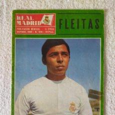 Coleccionismo deportivo: REVISTA REAL MADRID - II EPOCA / Nº 232 / SEPTIEMBRE 1969 - FLEITAS. Lote 269816108