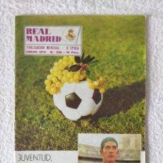 Coleccionismo deportivo: REVISTA REAL MADRID - II EPOCA / Nº 236 / ENERO 1970. Lote 269824113
