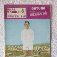 Coleccionismo deportivo: REVISTA REAL MADRID - II EPOCA / Nº 241 / JUNIO 1970 - INCLUYE POSTER AMANCIO. Lote 269828798