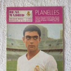 Coleccionismo deportivo: REVISTA REAL MADRID - II EPOCA / Nº 243 / AGOSTO 1970 - INCLUYE POSTER GROSSO. Lote 269830588