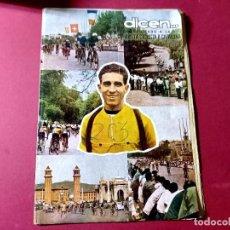 Coleccionismo deportivo: DICEN Nº 203 DEDICADO A LA VUELTA CICLISTA DE CATALUÑA - 1956-VER FOTOS. Lote 270150108