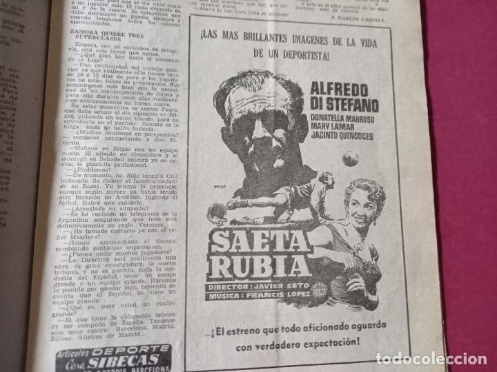 Coleccionismo deportivo: DICEN Nº 203 DEDICADO A LA VUELTA CICLISTA DE CATALUÑA - 1956-VER FOTOS - Foto 2 - 270150108