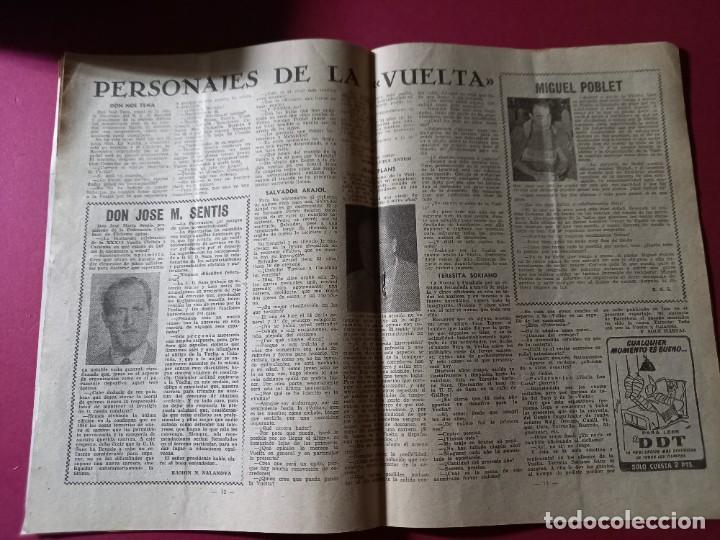Coleccionismo deportivo: DICEN Nº 203 DEDICADO A LA VUELTA CICLISTA DE CATALUÑA - 1956-VER FOTOS - Foto 3 - 270150108
