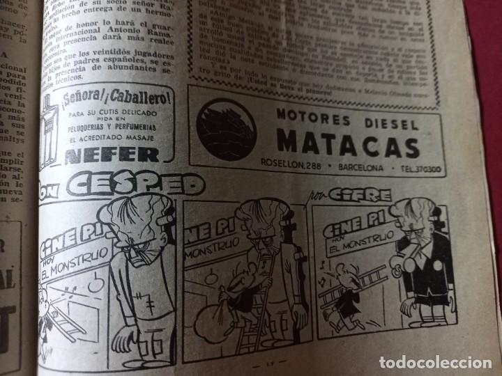 Coleccionismo deportivo: DICEN Nº 203 DEDICADO A LA VUELTA CICLISTA DE CATALUÑA - 1956-VER FOTOS - Foto 4 - 270150108