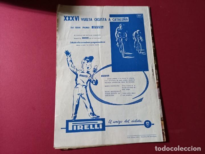 Coleccionismo deportivo: DICEN Nº 203 DEDICADO A LA VUELTA CICLISTA DE CATALUÑA - 1956-VER FOTOS - Foto 5 - 270150108