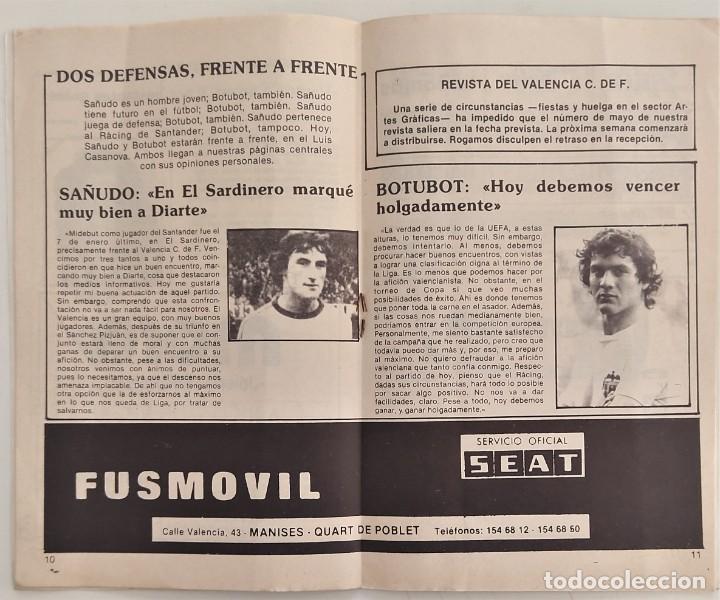 Coleccionismo deportivo: VALENCIA CLUB DE FUTBOL - TRES PROGRAMA OFICIAL CAMPEONATO DE LIGA 73-74; 78-79; Y 82-83 - Foto 5 - 270165203