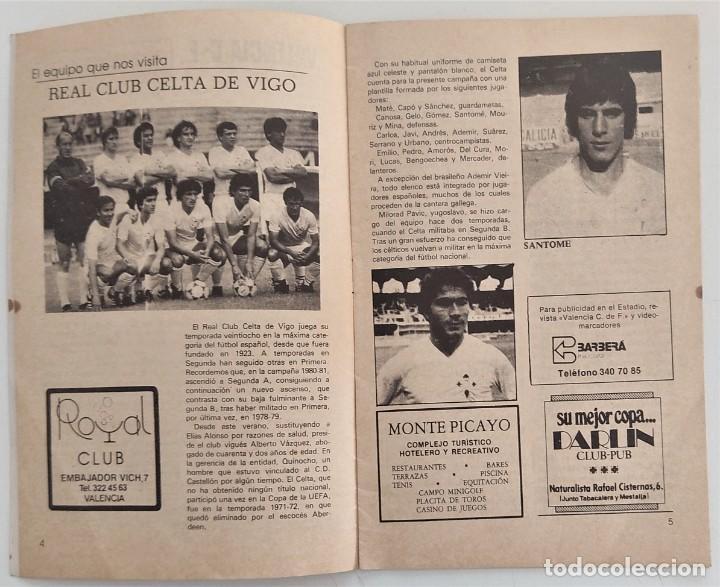 Coleccionismo deportivo: VALENCIA CLUB DE FUTBOL - TRES PROGRAMA OFICIAL CAMPEONATO DE LIGA 73-74; 78-79; Y 82-83 - Foto 8 - 270165203