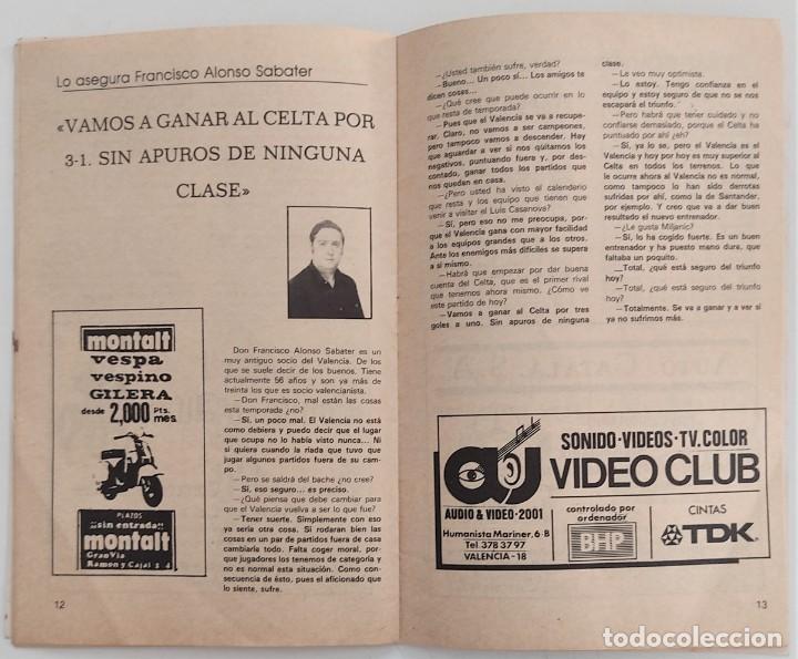 Coleccionismo deportivo: VALENCIA CLUB DE FUTBOL - TRES PROGRAMA OFICIAL CAMPEONATO DE LIGA 73-74; 78-79; Y 82-83 - Foto 10 - 270165203