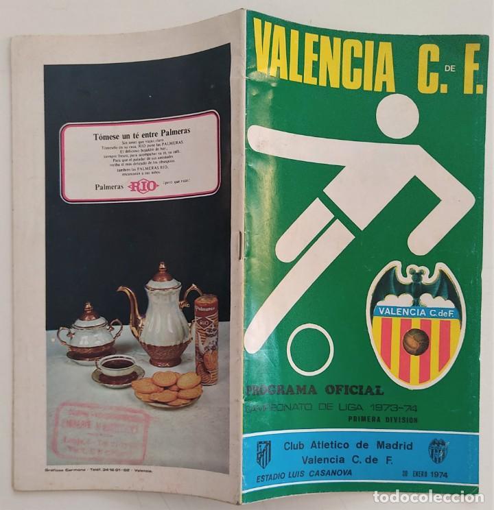 Coleccionismo deportivo: VALENCIA CLUB DE FUTBOL - TRES PROGRAMA OFICIAL CAMPEONATO DE LIGA 73-74; 78-79; Y 82-83 - Foto 11 - 270165203