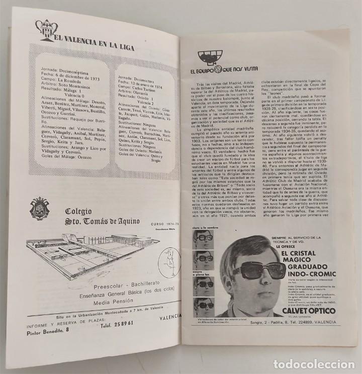 Coleccionismo deportivo: VALENCIA CLUB DE FUTBOL - TRES PROGRAMA OFICIAL CAMPEONATO DE LIGA 73-74; 78-79; Y 82-83 - Foto 13 - 270165203