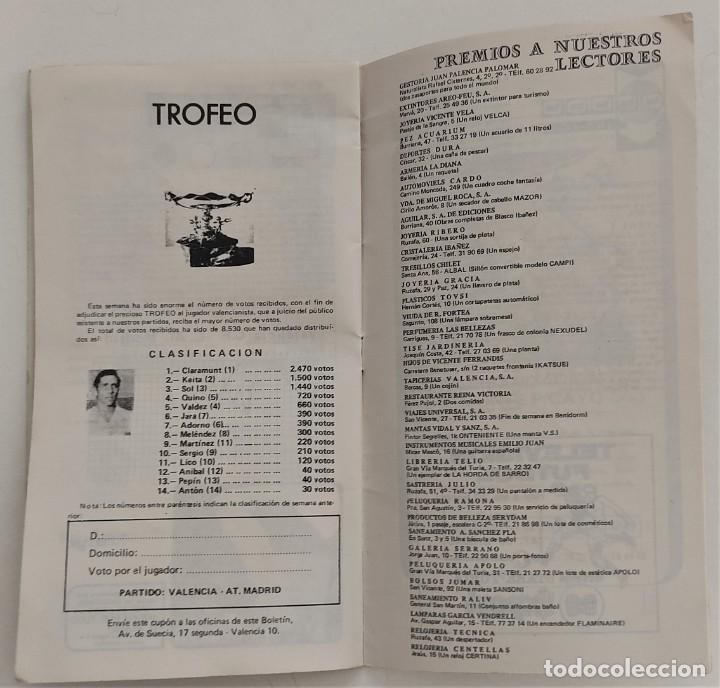 Coleccionismo deportivo: VALENCIA CLUB DE FUTBOL - TRES PROGRAMA OFICIAL CAMPEONATO DE LIGA 73-74; 78-79; Y 82-83 - Foto 15 - 270165203