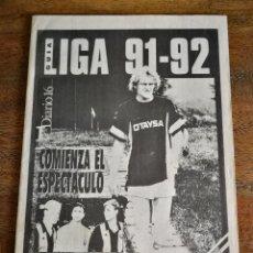 Coleccionismo deportivo: GUÍA LIGA 91-92. Lote 270359883