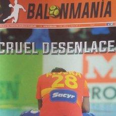 Coleccionismo deportivo: REVISTA BALONMANO BALONMANÍA 2016 Nº 34 ESPECIAL COPA DE LA REINA O PORRIÑO. Lote 270920858