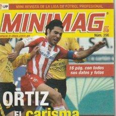 Coleccionismo deportivo: MINIMAG 2007 2008 Nº 356 ORTIZ DEL ALMERIA, EL CARISMA. Lote 271949228