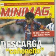 Coleccionismo deportivo: MINIMAG 2007 2008 Nº 185 DESCARGA DEL LEVANTE. EL CAÑONCITO DE IRUN. Lote 271953178