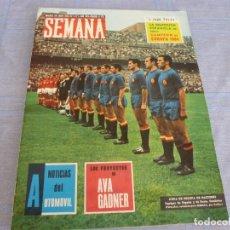 Collectionnisme sportif: REVISTA SEMANA(30-6-64)LA SELECCION DE ESPAÑA CAMPEONA DE LA EUROCOPA DE 1964 ESPAÑA 2 RUSIA 1. Lote 272334188