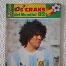 Coleccionismo deportivo: MARADONA. LOS CRACKS DEL MUNDIAL 82. ESPAÑA 82. 31 PAGINAS. FOTOS. 60 GRAMOS.. Lote 273265788