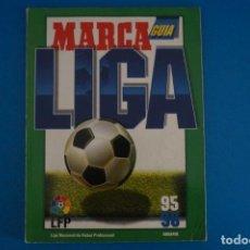 Coleccionismo deportivo: REVISTA DE FUTBOL GUIA MARCA LIGA AÑO 1995-1996/95-96. Lote 274178668