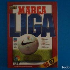 Coleccionismo deportivo: REVISTA DE FUTBOL GUIA MARCA LIGA AÑO 1996-1997/96-97. Lote 274178723