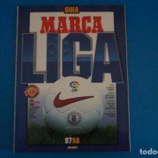 Coleccionismo deportivo: REVISTA DE FUTBOL GUIA MARCA LIGA AÑO 1997-1998/97-98. Lote 274178878
