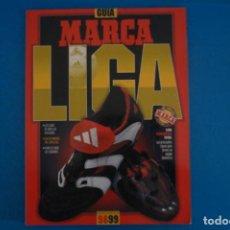 Coleccionismo deportivo: REVISTA DE FUTBOL GUIA MARCA LIGA AÑO 1998-1999/98-99. Lote 274178993
