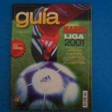 Coleccionismo deportivo: REVISTA DE FUTBOL GUIA MARCA LIGA AÑO 2000-2001/00-01. Lote 274179273